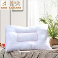 富安娜出品 馨而乐全棉荞麦枕芯助眠薰衣草荞麦枕芯74*48cm一个