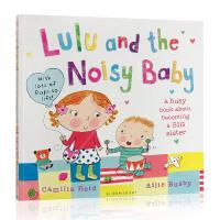 英文原版 Lulu and the Noisy Baby 我爱露露系列 吵闹的宝宝 二胎大宝带小宝3-6-8岁 翻翻拉