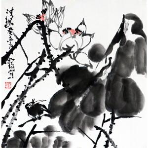 崔如琢《清幽》 中国画艺术大师