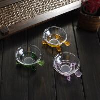 透明玻璃茶漏茶道漏斗功夫茶具套装配件茶过滤网泡茶茶滤器茶壶架