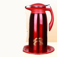 婚庆用品结婚水壶一对大红色暖瓶套装陪嫁热水瓶不锈钢暖壶保温壶 不锈钢保温壶(1.9L)一个