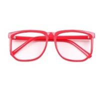 时尚男女无度数平光镜潮流女大方框复古装饰眼镜架大脸眼镜框