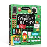 英文原版Lift-the-Flap Computers and Coding 看里面翻翻书:电脑与编程儿童启蒙早教认知