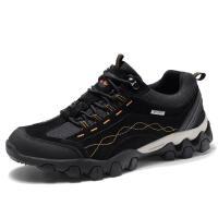 秋季登山鞋男士户外休闲鞋系带防滑旅游鞋耐磨 徒步运动鞋