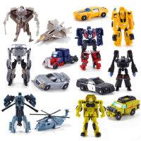 变形玩具金刚迷你大黄蜂小汽车机器人全套模型套装男孩蒙巴迪手动