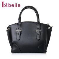 Ist belle/百丽箱包人造革简约优雅OL女包A1713AX6