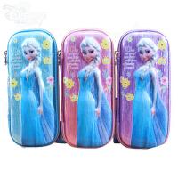 包邮迪士尼文具盒女小学生女童笔袋儿童可爱铅笔盒冰雪奇缘苏菲亚笔盒