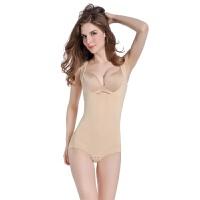 夏天冰丝连体塑身衣收腹束腰美体衣产后哺乳喂奶月子塑形