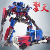 英雄柱SS05缩小版 威将变形玩具金刚OP柱汽车SS擎天机器人模型