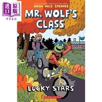 【中商原版】老狼先生的教室3 Lucky Stars (Mr. Wolf's Class #3) 儿童图书 英文漫画