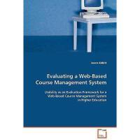 【预订】Evaluating a Web-Based Course Management System