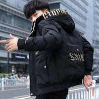 棉衣男士外套冬季2018新款韩版潮牌加厚棉袄潮流短款冬装羽绒