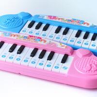 0-1-3岁女孩早教音乐迷你婴幼儿童宝宝电子琴玩具 钢琴