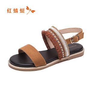 红蜻蜓女鞋女凉鞋WGK81111