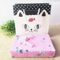 起司猫可爱小猫咪摆件陶瓷甜甜私房猫创意礼物工艺饰品精品家居SN9529