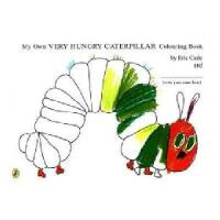 My Own Very Hungry Caterpillar Colouring Book 英文原版 好饿的毛毛虫【涂