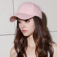 韩版潮人情侣街头棒球帽黑色百搭鸭舌帽夏天遮阳嘻哈帽子男女
