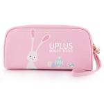 优家(UPLUS)多用途大容量卡通粉色化妆包(*发货 收纳袋 化妆品收纳包)