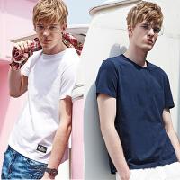 花花公子贵宾&Brush Finch合作款 男士夏季新款休闲图案帅气百搭圆领T恤
