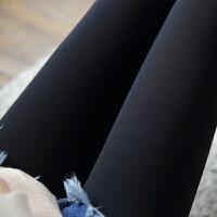 2018新款500D薄绒显瘦条纹加厚连裤袜秋冬哑光高弹美腿袜丝袜袜子打底袜女 均码