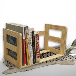 【限时秒杀】 幽咸 木质 桌上小书架 儿童书架 书立 无油漆  免安装