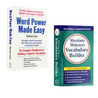 单词的力量+韦氏词根词典 工具书字典英语套装 英文原版Word Power Made Easy Vocabulary B