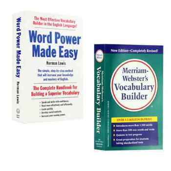 单词的力量+韦氏词根词典 工具书字典英语套装 英文原版Word Power Made Easy Vocabulary Builder英语词缀字典