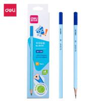 得力小学生铅笔无铅无毒2b儿童幼儿园小学文具用品素描绘图三角杆正姿写字铅笔一年级考试涂卡专用笔