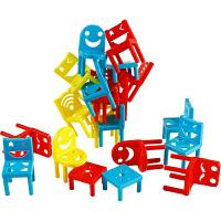 儿童玩具椅子叠叠乐男女孩宝宝手眼协调平衡力3-6-9岁智力桌游