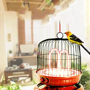 物有物语 取暖器  家用鸟笼造型小型电暖器宿舍烤火炉办公室便捷简易电热风扇