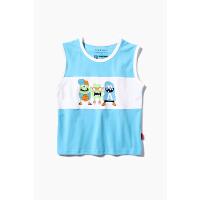 【2件3折到手价:37.8元】小虎宝儿男童背心外穿儿童纯棉洋气无袖T恤2020年夏季新款中大童