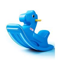宝宝塑料摇摇马大号1-2周岁礼物儿童摇马玩具