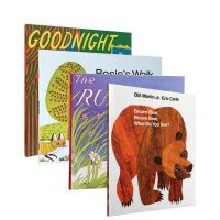 英文原版 Brown Bear What Do You See goodnight moon Rosie's Walk