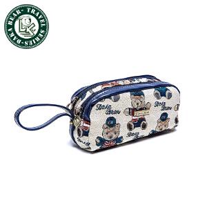 大咖熊女式化妆包包袋小熊韩版 DK487