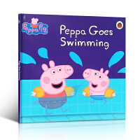 英文原版书 粉红猪小妹佩奇 Peppa Pig Peppa Goes Swimming学龄前3-5-6-8岁宝宝爱绘本
