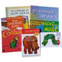 美国教育协会推荐推荐适合学龄前儿童9本套装The Very Hungry Caterpillar Goodnight M