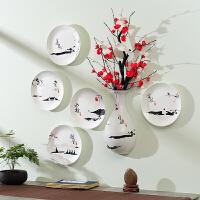 墙面装饰品挂件挂盘墙饰壁饰客厅电视柜餐厅背景墙挂饰