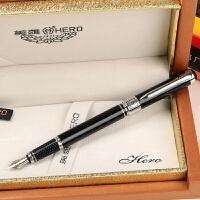 HERO 英雄1017 铱金笔 英雄经典练字笔墨水笔 学生钢笔开学礼 新年礼物 赠墨水