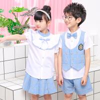 夏季新款中小学生儿童校服男女童套装班服运动服