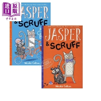 【中商原版】猫狗之家Jasper and Scruff2册 低幼童书 故事书 猫狗之家 绘本童书 友谊故事 5~8岁 英