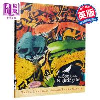 【中商原版】Laura Carlin:The Song of the Nightingale 兰丁格尔之歌 精品绘本 低