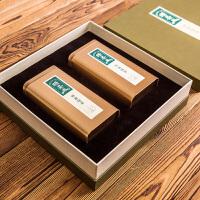 高档绿茶包装盒通用茶叶罐礼盒 定制纸盒