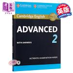 【中商原版】剑桥CAE考试2 真题集:学生书(含答案和音频)英文原版 Cambridge English Advanc