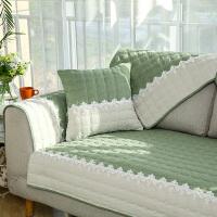 沙发垫四季通用布艺棉麻简约现代田园组合坐垫