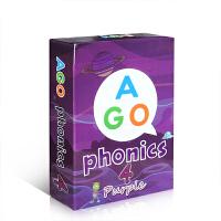 【全店300减100】英文原版 AGO phonics Level 4 自然拼读 魔法英语扑克牌 词族 桌游趣味教学卡片