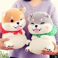 韩国抱着睡觉布娃娃玩偶可爱柴犬暖手抱枕公仔狗狗毛绒玩具女生萌