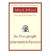 【现货】英文原版 The Five People You Meet in Heaven 你在天堂里遇到的5个人 Albom, Mitch 著