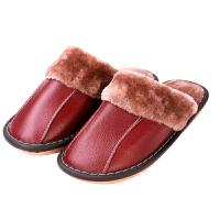 冬季拖鞋居家用防滑房间卧室男女情侣室内保暖棉拖鞋冬天
