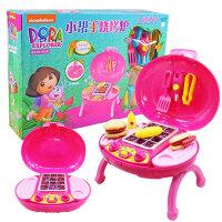 朵拉仿真小家电过家家厨房小帮手搅拌机面包机水果榨汁机玩具