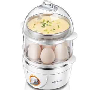 小熊(Bear) 煮蛋器 蒸蛋器 双层定时 煮蛋机 蒸蛋机 ZDQ-2151